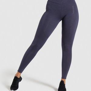 """Gymshark Dark Blue """"Lustre"""" Leggings High Waist S"""